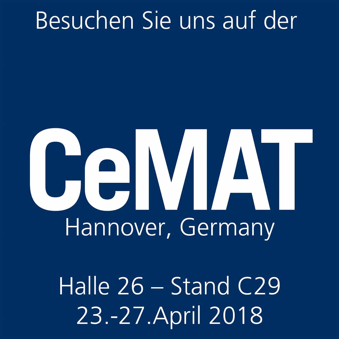 CeMat 2018 Logo