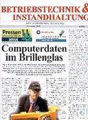 Betriebstechnik & Instandhaltung cover