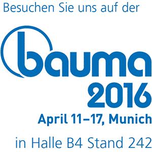 Bauma 2016 Logo
