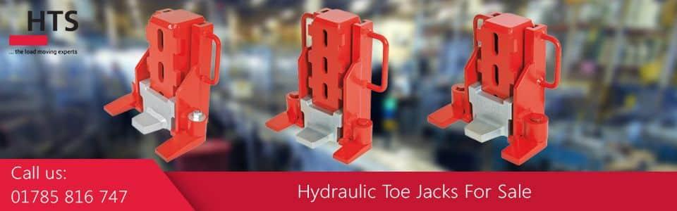 Hydraulic toe jack promotional image